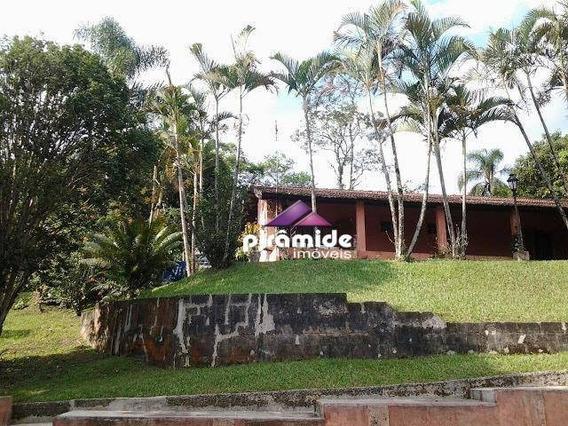 Chácara Com 3 Dormitórios À Venda, 5300 M² Por R$ 550.000 - Ouro Fino - Santa Isabel/sp - Ch0099