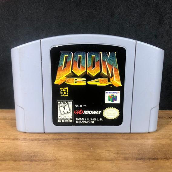 Doom 64 100% Original Americano P/ Nintendo 64!! N64!!