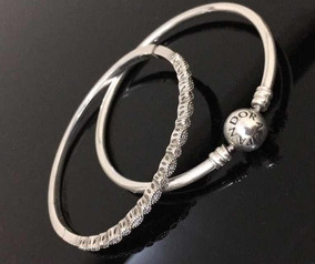 Pulseira Rígida E Bracelete Pandora