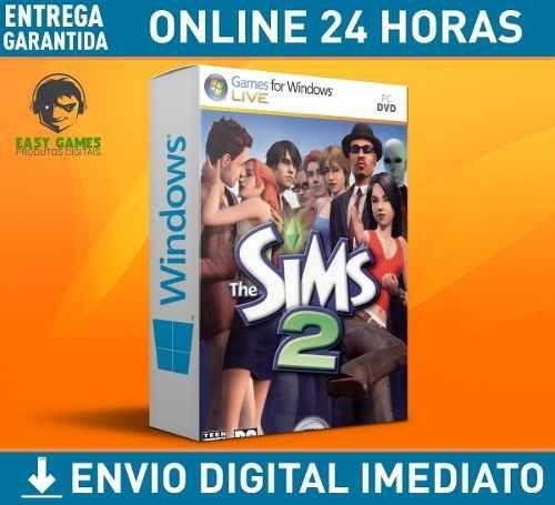 The Sims 2 Pc + Todas As Espansões, Objetos, Dlc, 24h On