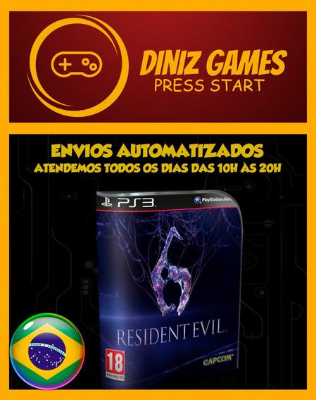 Resident Evil 6 Midia Digital