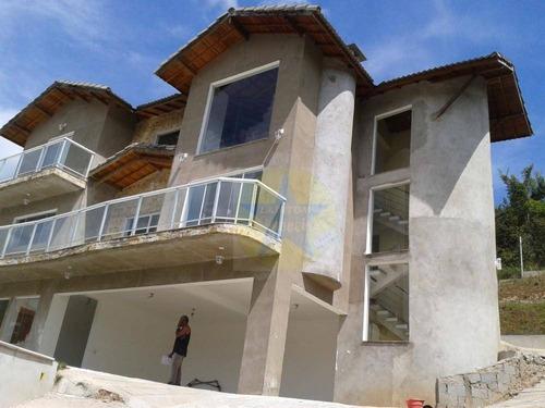 Casa Em Condomínio Fechado Com 3 Dormitórios À Venda, 300 M² Por R$ 1.300.000 - Rio Abaixo - Mairiporã/sp - Ca0191