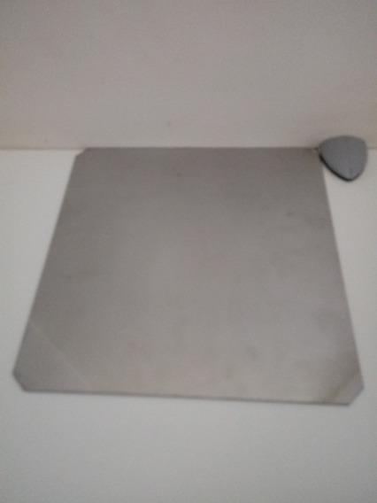 Chapa Inox Para Mesa Aquecida Impressora 3d Graber/prusai3