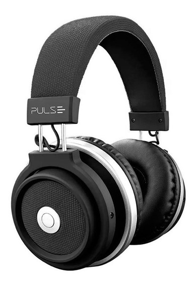 Fone Ouvido Pulse Headphone Large Preto Bluetooth 4.0 Top