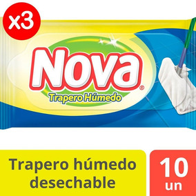 Trapero Húmedo Nova Pack X3 30u Tienda Oficial
