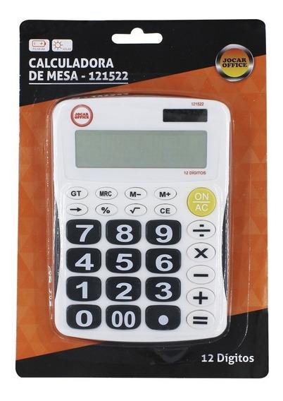 Calculadora Mesa 12 Dígitos 3916 B Jocar 99306 121522 038459