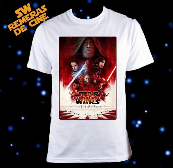 Remera Star Wars The Last Jedi Episodio 8