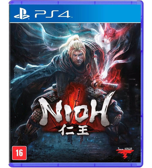 Nioh Ps4 Sony Mídia Física Lacrado Team Ninja Black Label