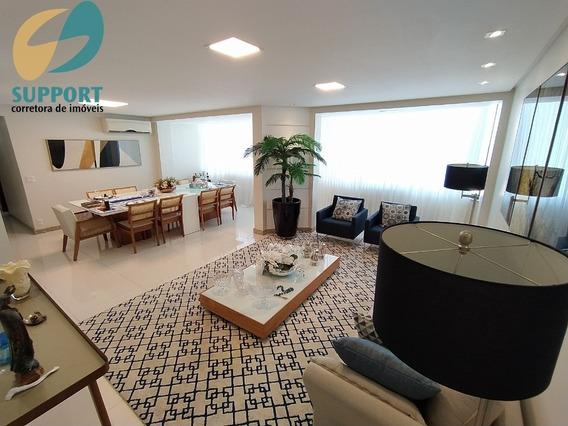 Apartamento Decorado De 3 Quartos Na Praia Do Morro Guarapari-es - Support Corretora De Imóveis - Ap00180 - 68236595