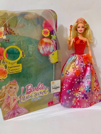 Boneca Barbie Portal Secreto Português Alexa 2013 Musica Luz