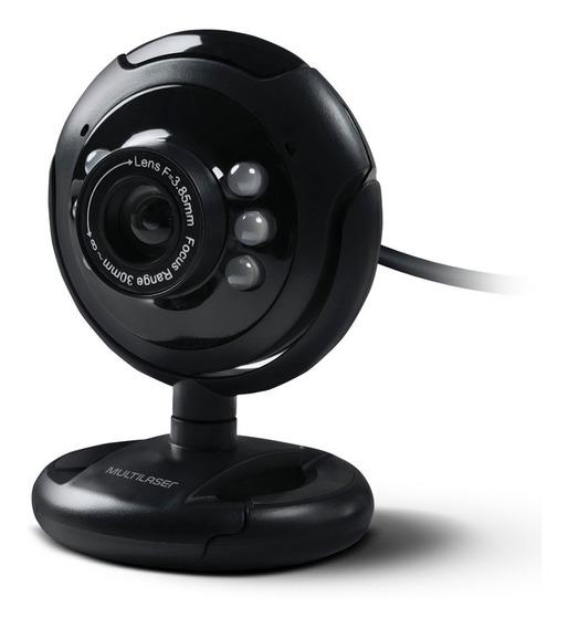 Web Cam Night Vision Toy 16mp Microfone Multilaser +garantia