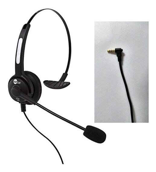 Headset Htu-300 P2 Para Celular / Notebook