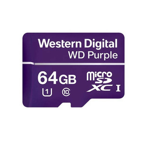 Western Wdd064g1p0a- Memoria De 64gb Micro Sdxc Purple