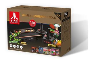 Consola Atari Clásica Flashback 9 Gold Portable 120 Juegos
