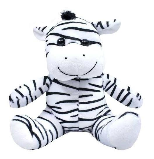 Zebra Sentada 28cm - Pelúcia