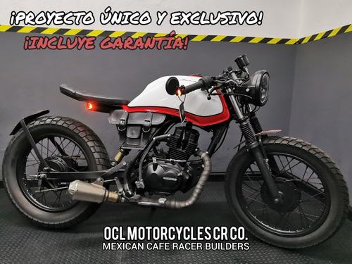 Imagen 1 de 8 de Moto Honda 150cc Cafe-bobber ¡en Stock! (custom/cafe Racer)