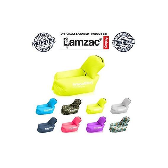 Silla Inflable Del Ocioso Con La Almohada Desmontable: Lazyb