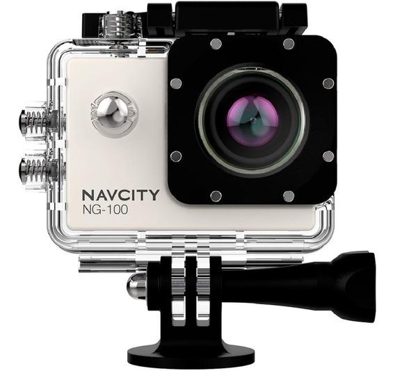 Camera Fotografica Filmadora Full Hd Go Action Navcity 4k