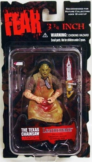 Cinema Of Fear Mezco Leatherface Texas Chainsaw Fig 3 3/4