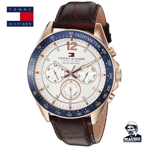 Reloj Tommy Hilfiger Luke 1791118 En Stock Nuevo En Caja
