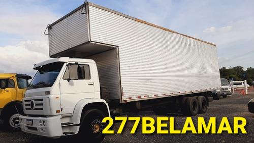 Imagem 1 de 6 de Caminhão Vw 18310 Baú 10x320 C/porta Lateral