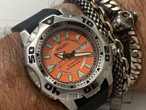 Seiko Skz281 Monster Starfish 7s36-04g0 Automatic 200m Diver