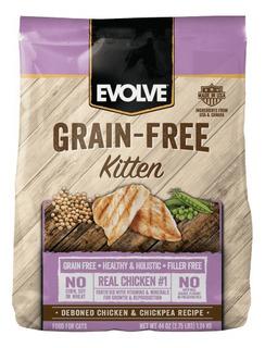Evolve Kitten Grain Free Pollo 1.24kg