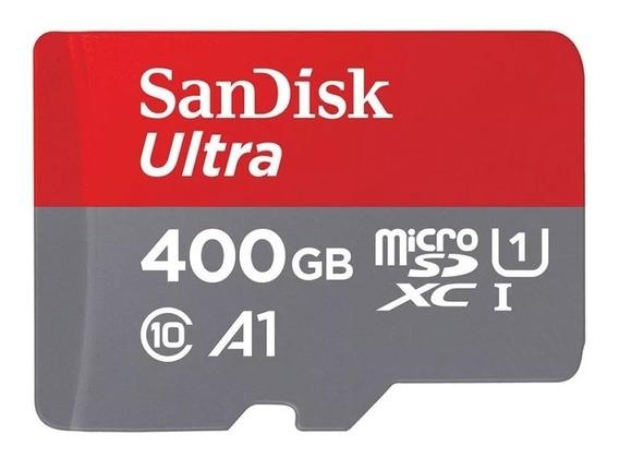 Sandisk Cartão Micro Sd Ultra 400gb A1 Uhs-i 100mb/s Sdxc