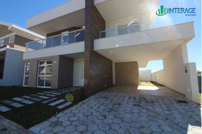 Casa Residencial À Venda, Santa Felicidade, Curitiba. - Ca0073