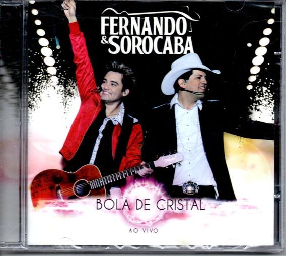 Cd Fernando E Sorocaba - Bola De Cristal - Ao Vivo