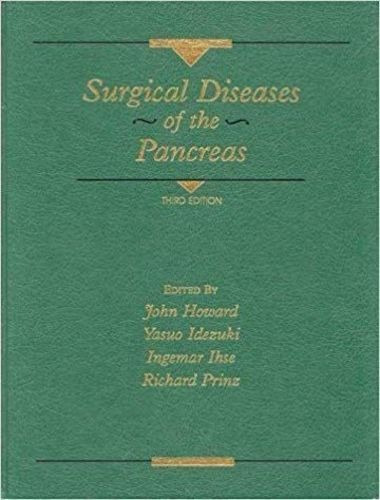 Livro Surgical Diseases Of The Pancreas John M. Howard