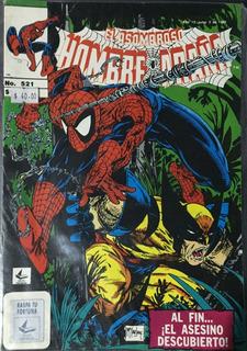 Comic El Asombroso Hombre Araña #521 Novedades