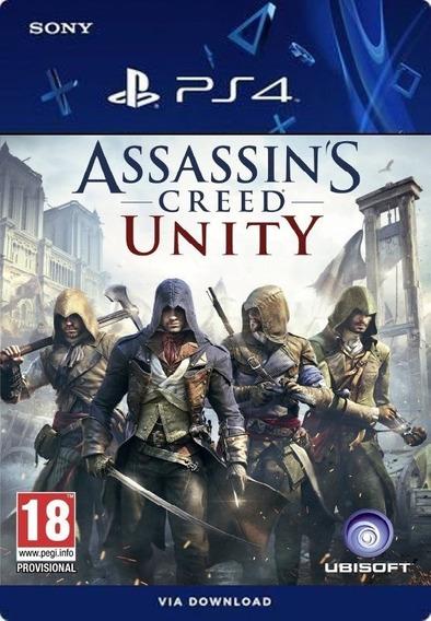 Assassins Creed Unity Ps4 Português /digital /original1