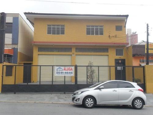 Locação Galpão - Veleiros, São Paulo-sp - Rr365