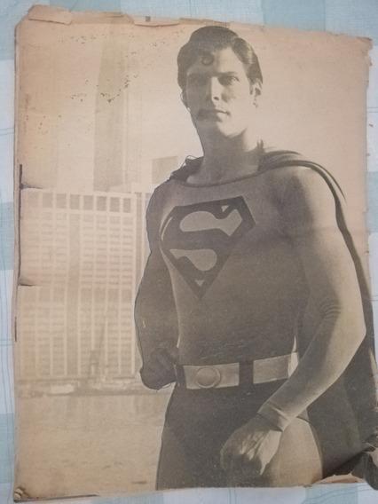 Revista Oficial De Superman The Movie, De 1979 Inédita