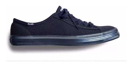 Tenis Keds Kickstart Shimer 1110 Feminino Azul Mar Original