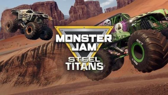 Monster Jam Steel Titans Pc - Dvd