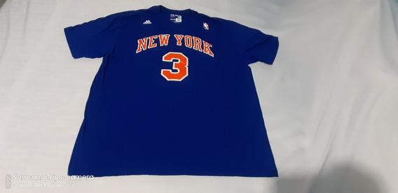 Playera adidas Algodon Knicks Ny Jhon Starks Xl