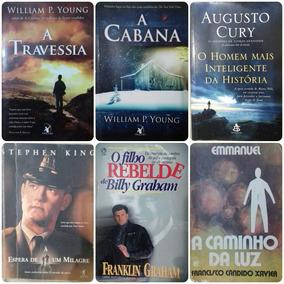 6 Livros A Travessia,a Cabana,o Homem Mais Inteligente