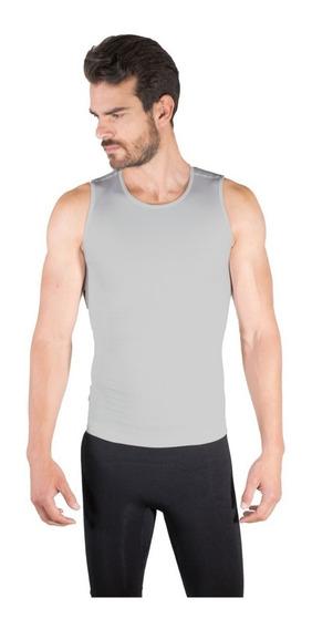 Camiseta Faja Seamless Hombre Cuello Redondo Sin Mangas 4004