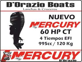 Motor Fuera De Borda Mercury 60 Hp 4 Tiempos Ct Full Dorazio