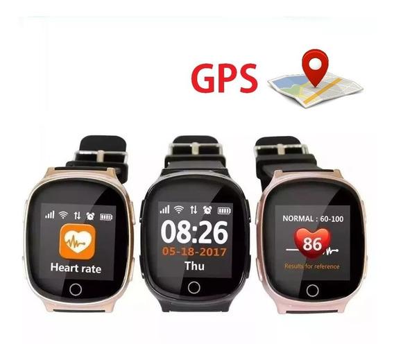 Reloj Inteligente Localizador Gps Para Adulto Smart D100