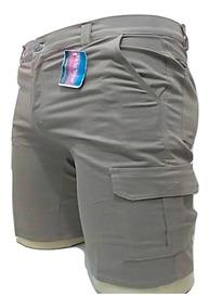 Roupa Bermudas Adulto Masculina Com 6 Bolsos Reforçada Top