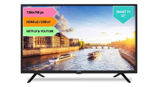 Smart Tv Hd Rca X32sm 32 Hdmi Usb 2.0 Wifi Apps 12cts