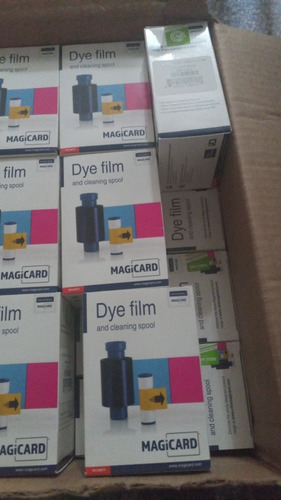 Cinta Magicard Dye Film Ma300ymcko  Original