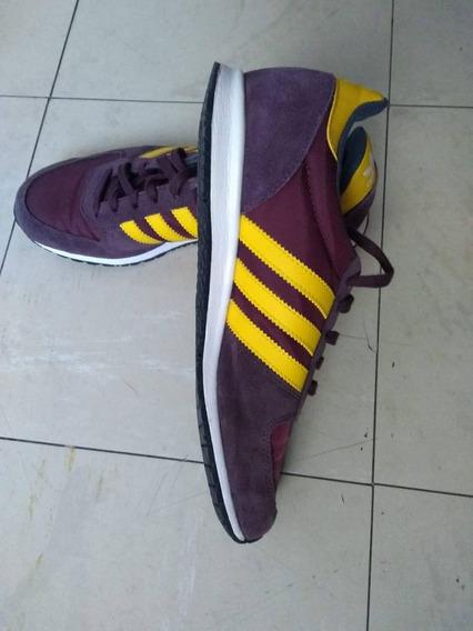 adidas Adistar Racer Marrom E Amarelo 38