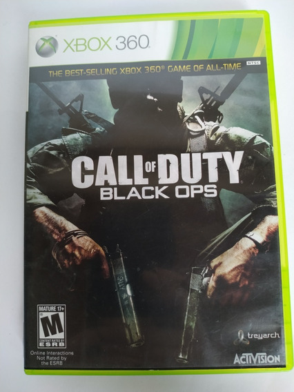 Call Of Duty Black Ops Original Xbox 360 Físico