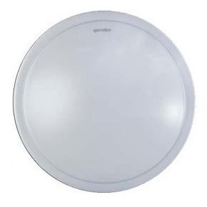 Plafon Gamalux Tira Luz Led Incluida Silver 12 W/gamalux