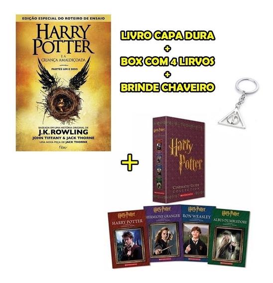 Kit Harry Potter Livro 8 + Guia Cinematográfico 4 Livros
