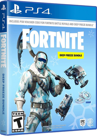 Fortnite Deep Freeze Bundle Ps4 Mídia Digital Novo